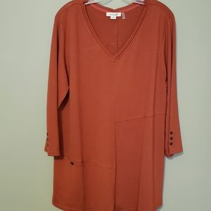 Simply Noelle V-Neck Tunic Size L/XL 12-14